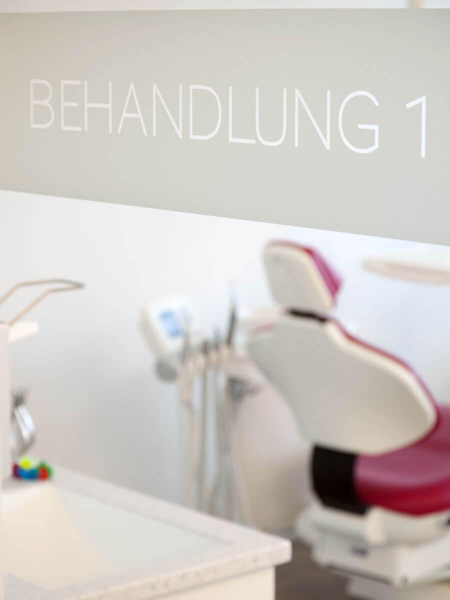 Kieferorthopädie Praxis in Fürstenfeldbruck / Behandlung