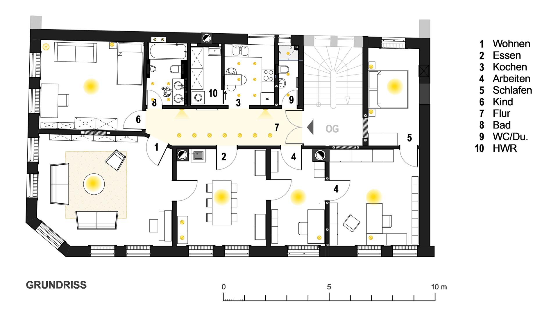 Wohnung Esslingen / Grundriss
