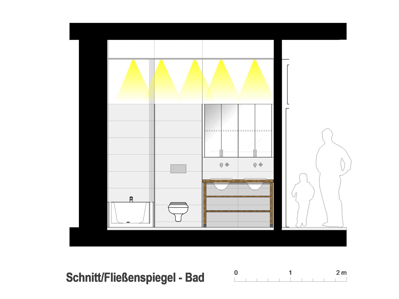Wohnung Esslingen / Bad Fließenspiegel