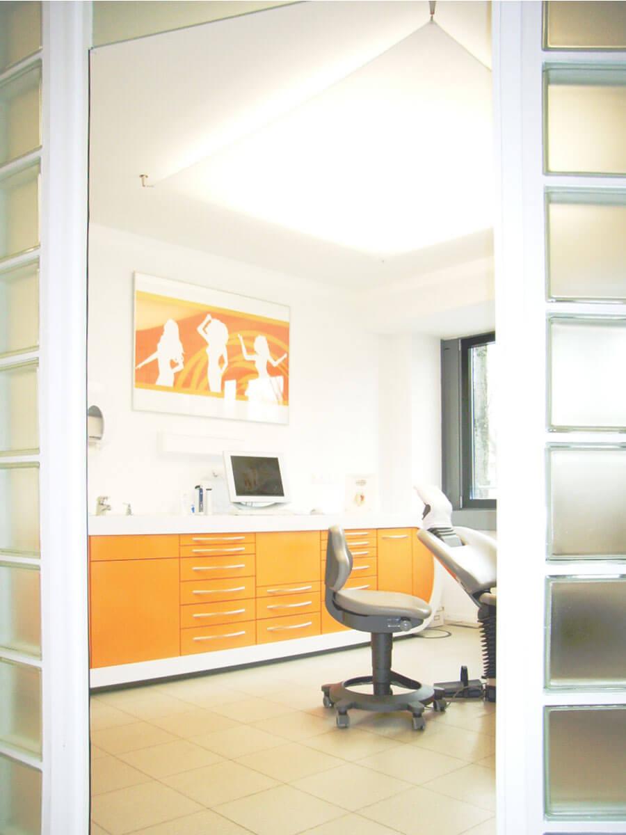ZA Praxis in München (Isarvorstadt) / Behandlungsraum